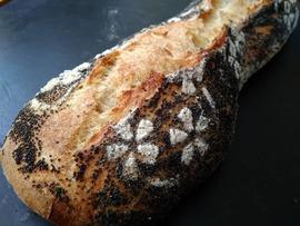 🥖 Pan de barra facil y delicioso